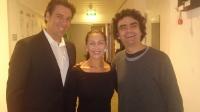 Rolando Villazon mit Andreas Lichtenberger & Trixi Lichtenberger,